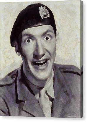 Bernard Bresslaw, Carry On Actor Canvas Print