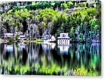 Bernard Pond Canvas Print