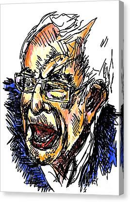 Bernie Canvas Print by Robert Yaeger