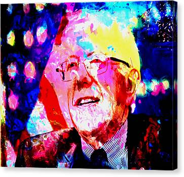 Carter House Canvas Print - Bernie Sanders by Brian Reaves