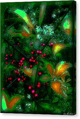 Berries Canvas Print by Iowan Stone-Flowers