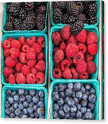 Berry Berry Delicious Canvas Print by Peter Tellone