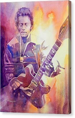 Berry Pickin' Canvas Print by Robert Hooper