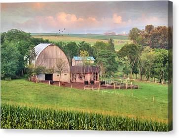 Berrysburg Farm Canvas Print