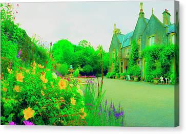 Beryl House Canvas Print by Jan W Faul