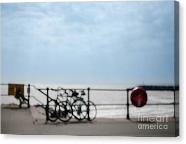 Canvas Print featuring the photograph Beside The Seaside #6 by Jan Bickerton