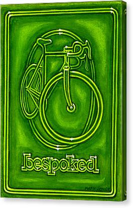 Bespoked In Lime  Canvas Print by Mark Jones