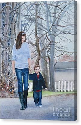 Best Buddies Canvas Print by Karol Wyckoff