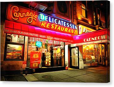 Best Deli In Nyc Canvas Print