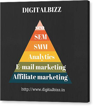 Sem Canvas Print - Best Digital Marketing Institute In Ameerpet Hyderabad by Mohd Manzoor