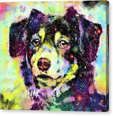 Best Friend Canvas Print by Gary Grayson