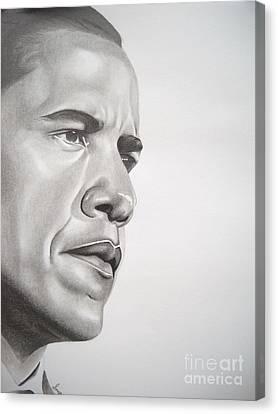 Barack Canvas Print - Best In Class by Sonya Walker
