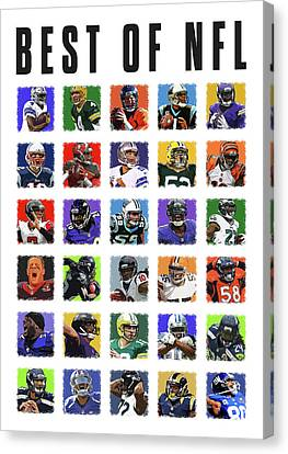 Best Of Nfl Canvas Print