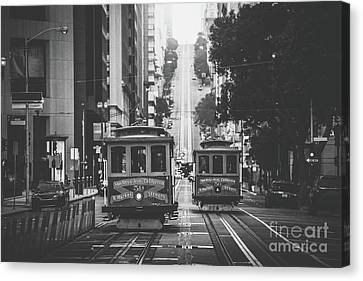 Best Of San Francisco Canvas Print by JR Photography