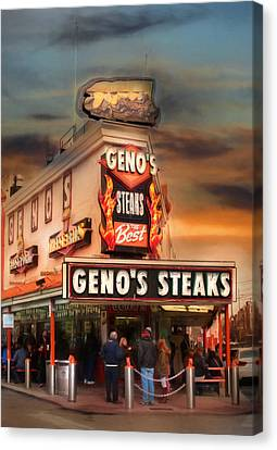 Best Steaks In Town Canvas Print by Lori Deiter