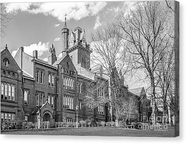 Bethany College Old Main Canvas Print by University Icons