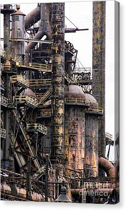 Bethlehem Steel # 17 Canvas Print