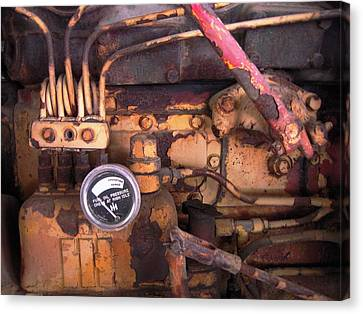 Better Check That Oil Pressure Canvas Print by Don Struke