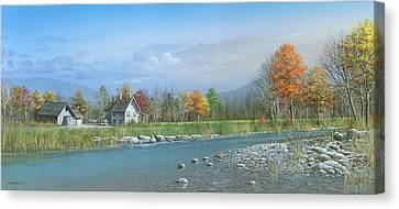 Better Days Canvas Print by Mike Brown