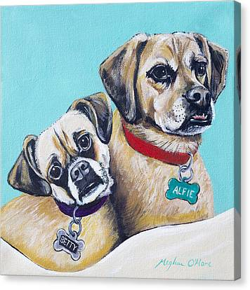Betty And Alfie Canvas Print