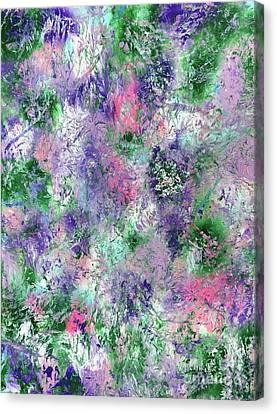 Fairy Fantasy Garden Canvas Print by Jo Ann Bossems