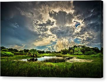 Between Storms Canvas Print by Marvin Spates