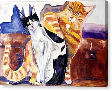 Between Canvas Print by Vladimir Nenashev