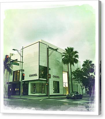 Beverly Hills Rodeo Drive 13 Canvas Print