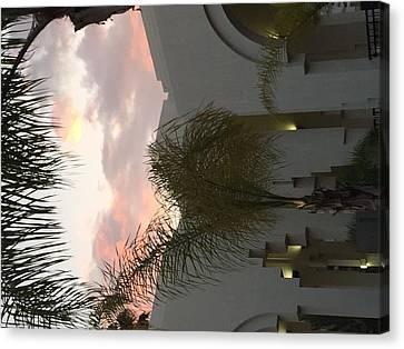 Beverly Hills Sunset Canvas Print