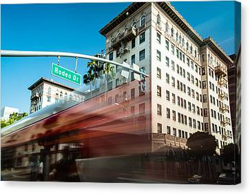 Beveryly Hills Two Canvas Print by Josh Whalen