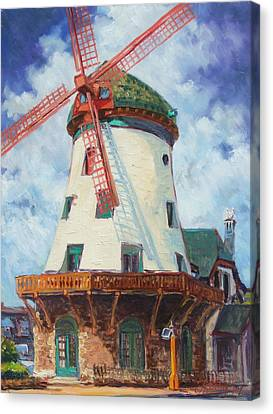 Bevo Mill In St.louis Canvas Print by Irek Szelag