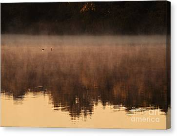 Canvas Print featuring the photograph Bev's Retreat by Tamyra Ayles