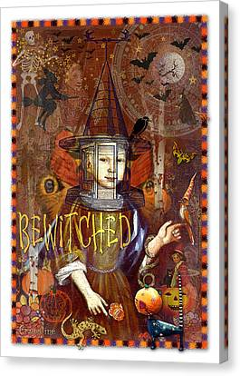 Bewitched Canvas Print by Ernestine Grindal