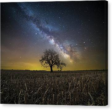 Canvas Print featuring the photograph Beyond by Aaron J Groen