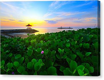 Canvas Print featuring the photograph Beyond Beauty  by Kadek Susanto