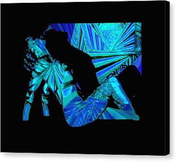 Beyond Blue Canvas Print