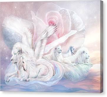 Beyond Fantasy 2 Canvas Print by Carol Cavalaris