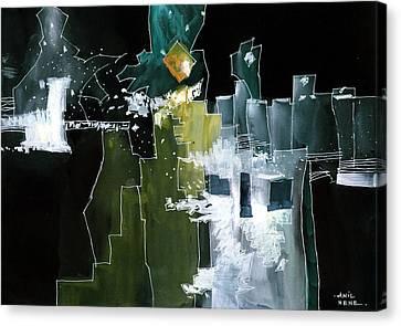 Beyond Horizons Canvas Print by Anil Nene