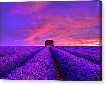 Abandoned Houses Canvas Print - Beyond Sunset by Midori Chan