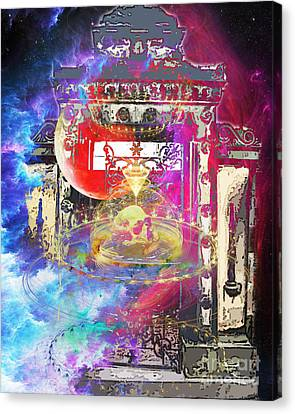 Beyond The Graveyard Canvas Print by Tammera Malicki-Wong