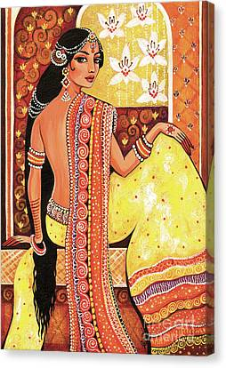 Bharat Canvas Print by Eva Campbell