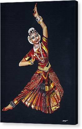Bharathanatyam Canvas Print