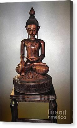 Bhumisparsha Mudra By Kaye Menner Canvas Print by Kaye Menner
