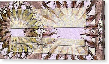 Bhungini Symmetry Flower  Id 16165-041903-68331 Canvas Print by S Lurk