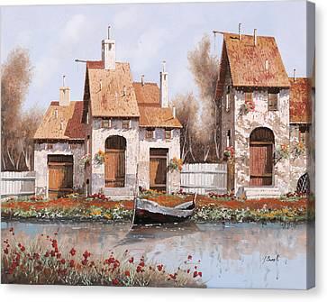 Bianca Canvas Print by Guido Borelli