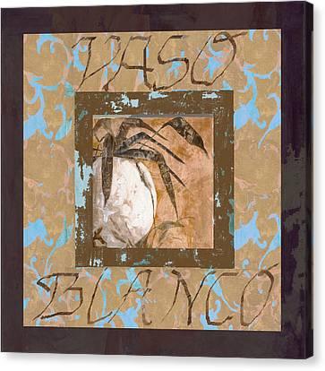 Bianco Vinaccia Canvas Print by Guido Borelli