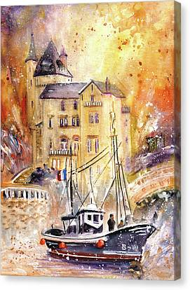 Biarritz Authentic Canvas Print