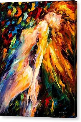 Bias Canvas Print by Leonid Afremov