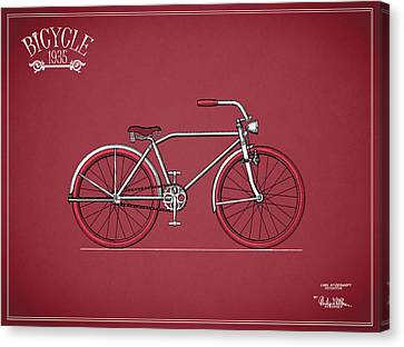 Bicycle 1935 Canvas Print by Mark Rogan
