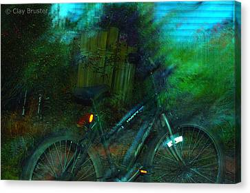 Bicycle Canvas Print by Clayton Bruster